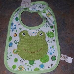 Boy Turtle Bib